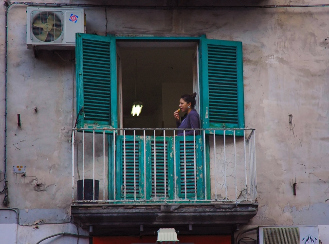 Black woman green window Naples best