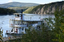 Sternwheelers were the main transportation mode for most of a century. This is for tourists now