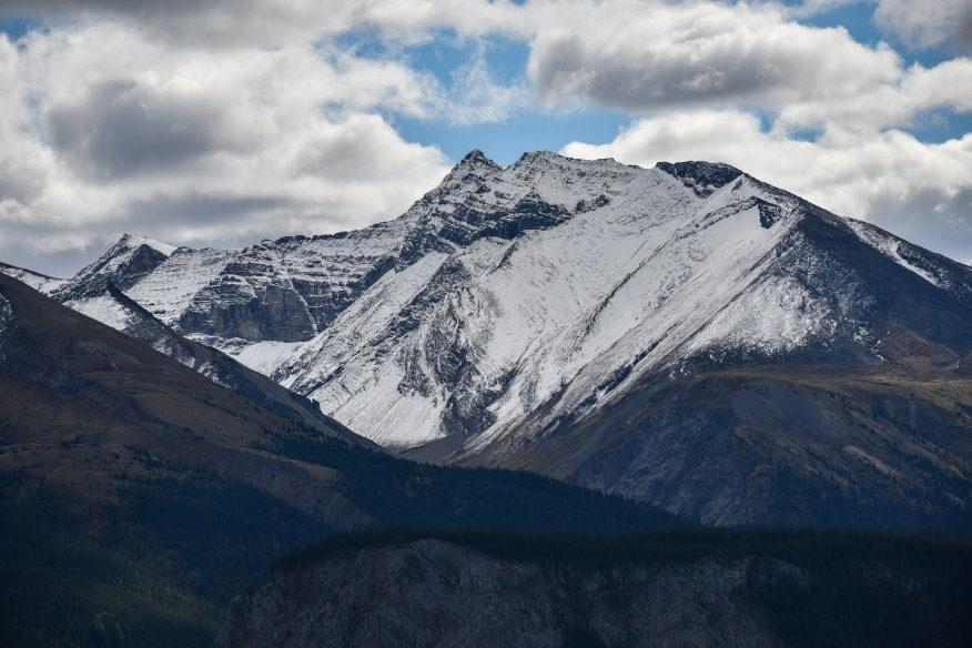Snow covered mountain II