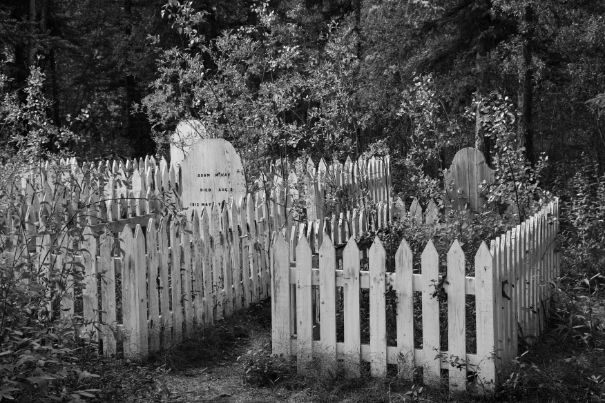 Mayo Cemetery general BW 0259