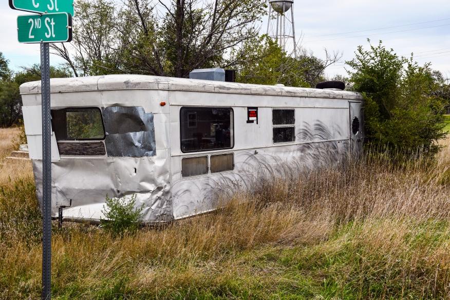 Stream lined trailer Belvidere SD 1919-2