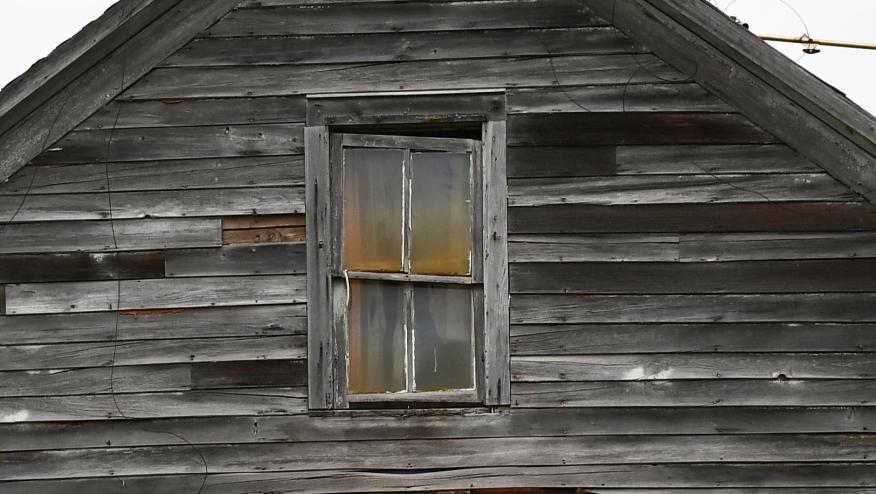 Upstairs window 1915